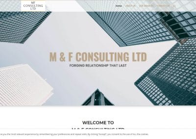 MF Limited – Consulting Finance